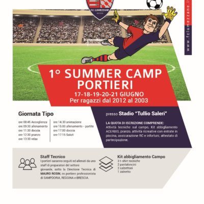 1° Summer Camp Portieri