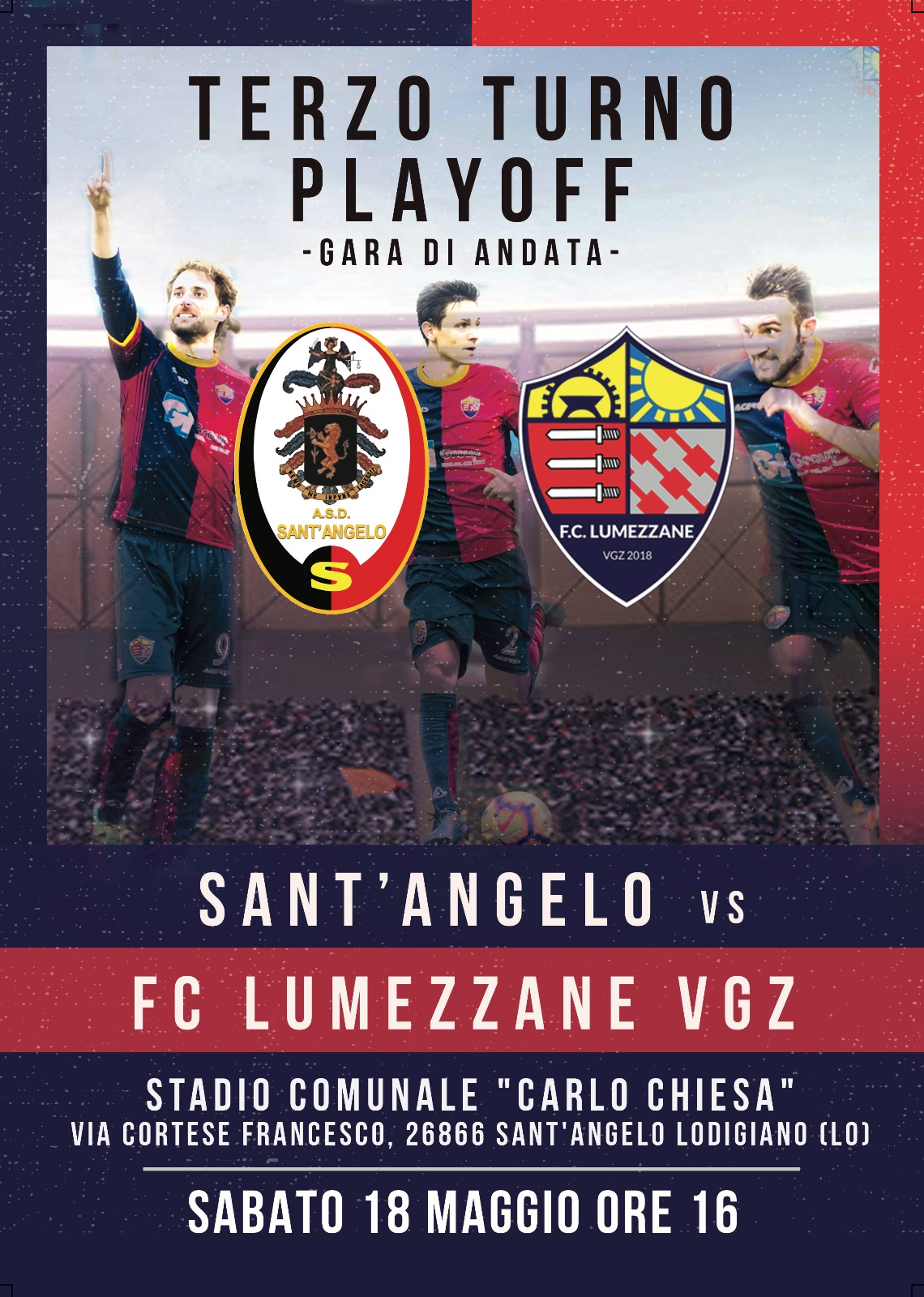 TERZO TURNO PLAYOFF- Sant'Angelo VS Fc Lumezzane Vgz
