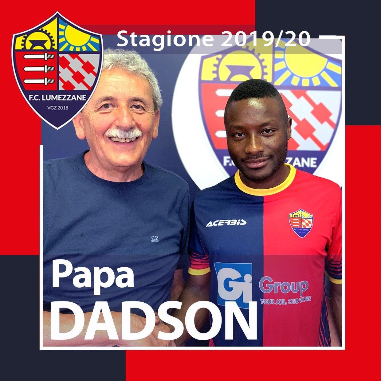 Bentornato In Rossoblù A Papa Dadson
