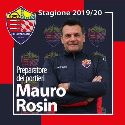 Confermato Il Preparatore Portieri Mauro Rosin