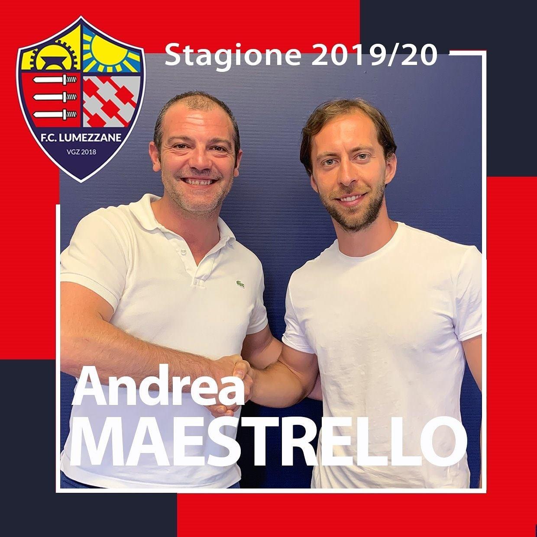 Andrea Maestrello è Il Nuovo Preparatore Atletico