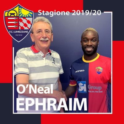 Benvenuto In Rossoblu A O'Neal Ephraim