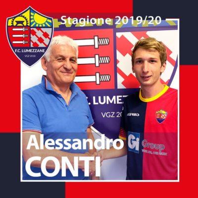 Benvenuto In Rossoblu Alessandro Conti