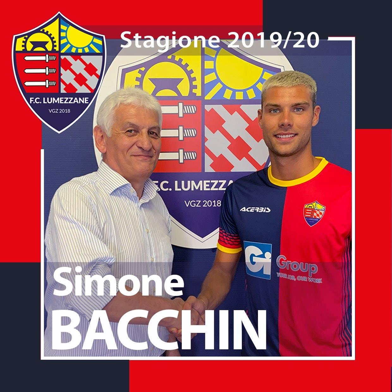 Benvenuto In Rossoblù A Simone Bacchin