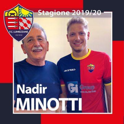 Benvenuto In Rossoblu Nadir Minotti