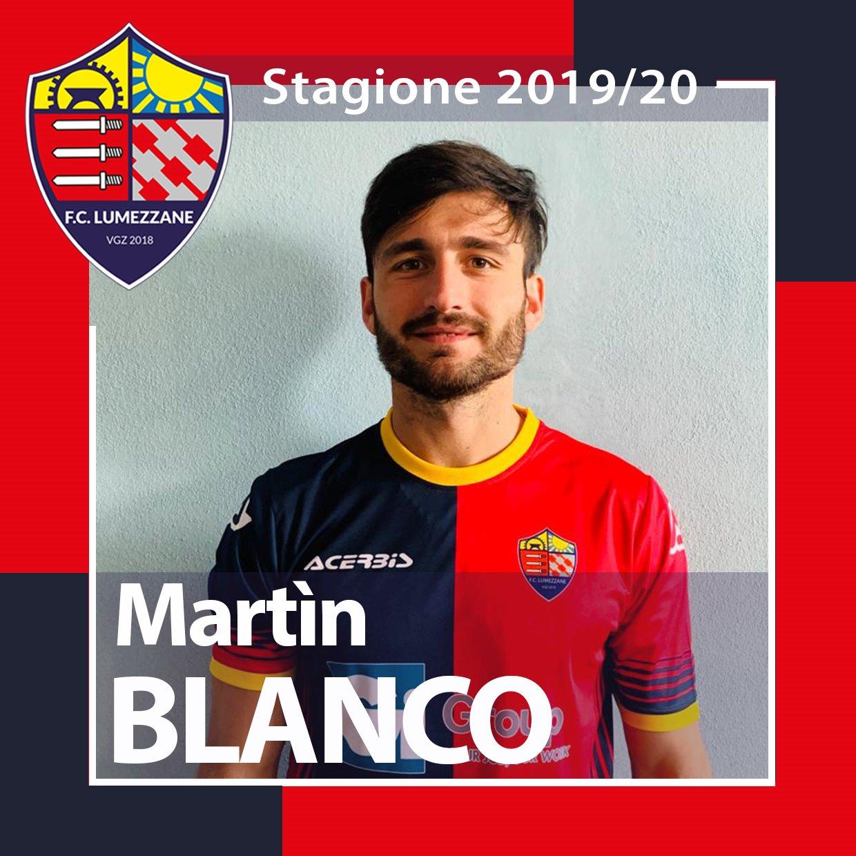 Nuovo Acquisto! Benvenuto Martìn Blanco