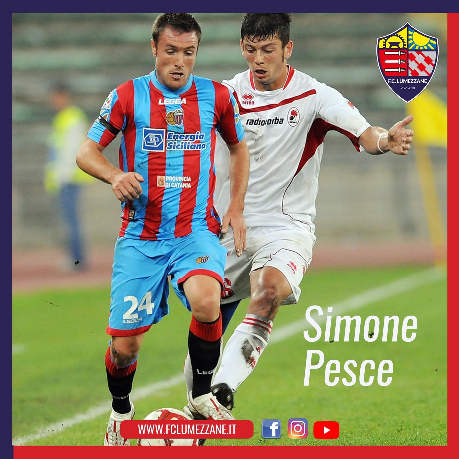 Ufficiale: Simone Pesce è Un Nuovo Giocatore Del Lumezzane