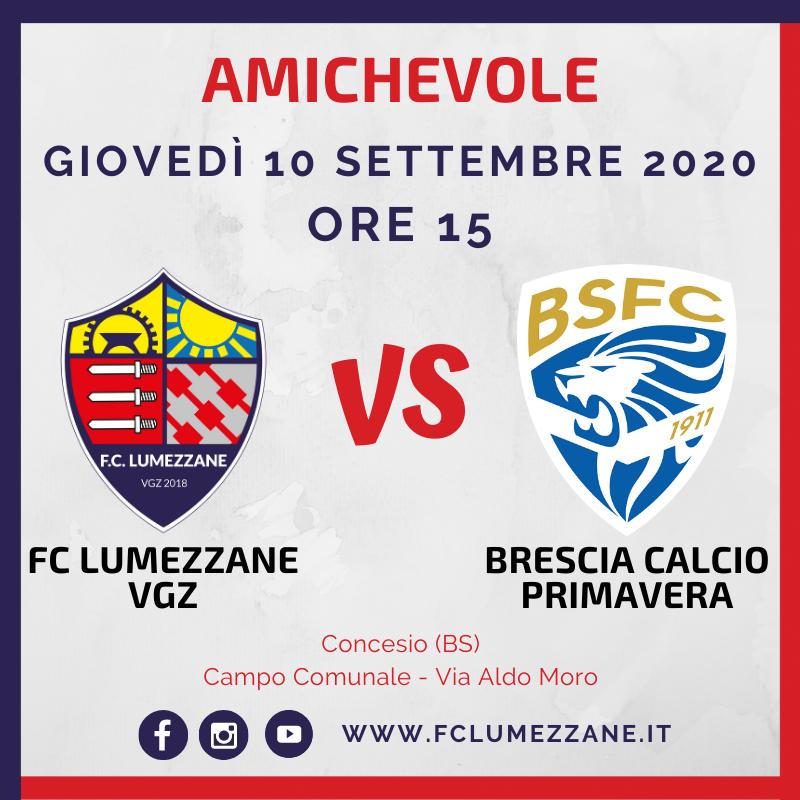 Amichevole Fc Lumezzane Vgz – Brescia Calcio Primavera