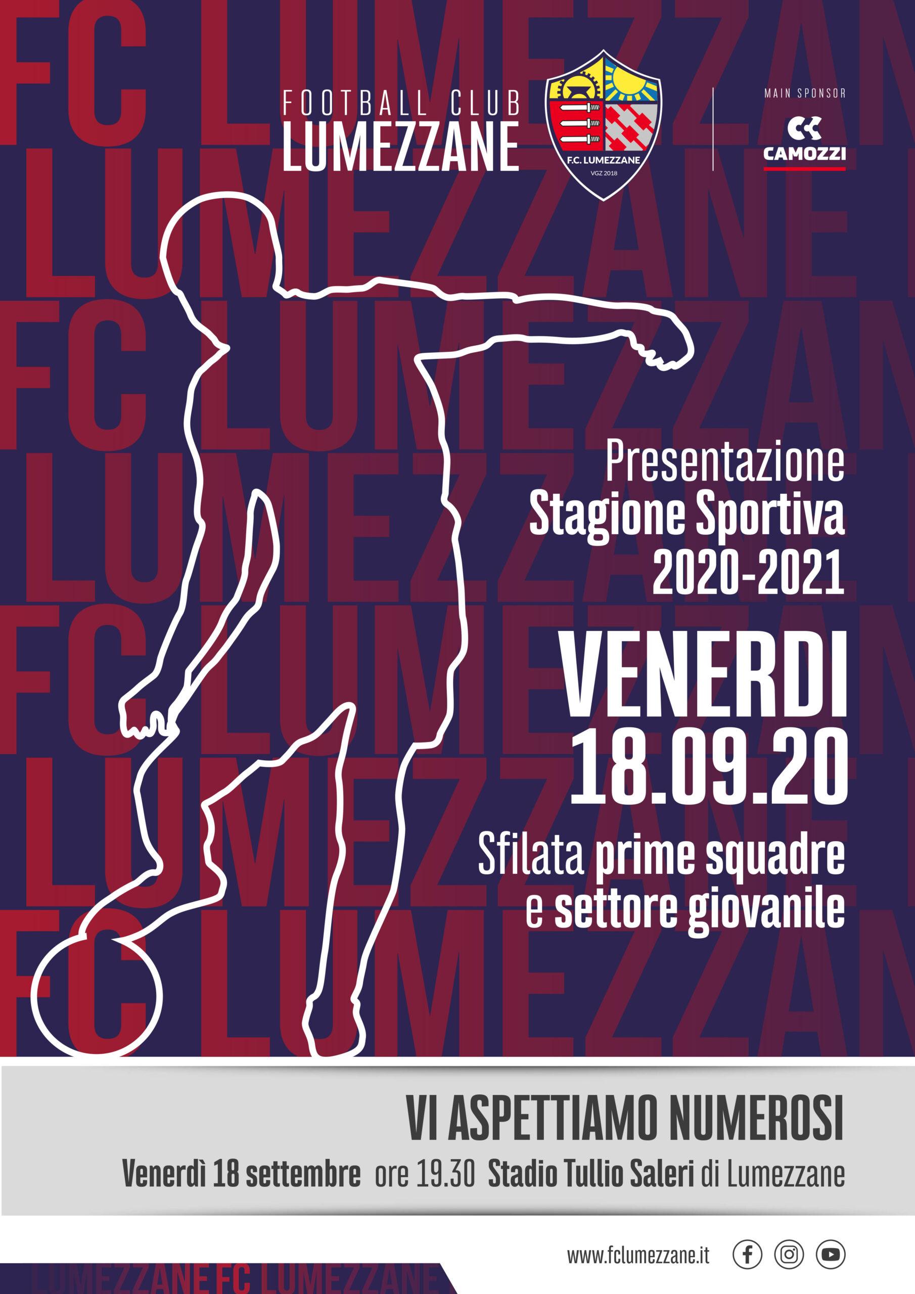 Presentazione Ufficiale F.C. Lumezzane Vgz, Stagione 2020/2021