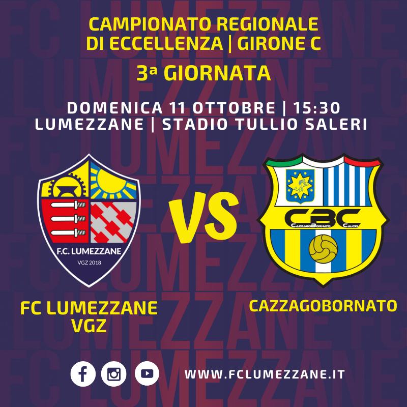 """La Gara Contro Il Cazzagobornato Si Giocherà Allo Stadio """"Tullio Saleri"""" Di Lumezzane"""
