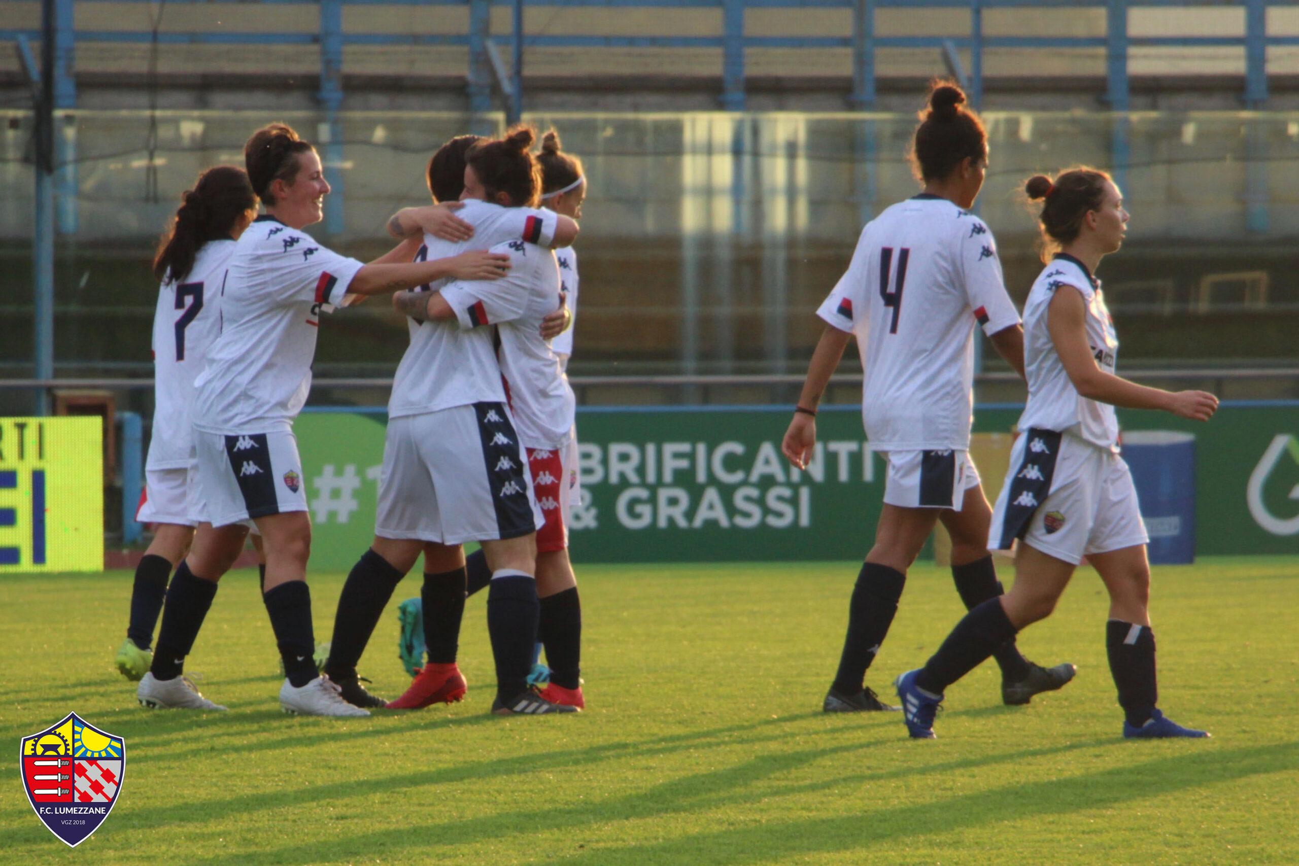 FEMMINILE | Campionato | 1ª Giornata  | FC LUMEZZANE VGZ – Villa Valle 10-0