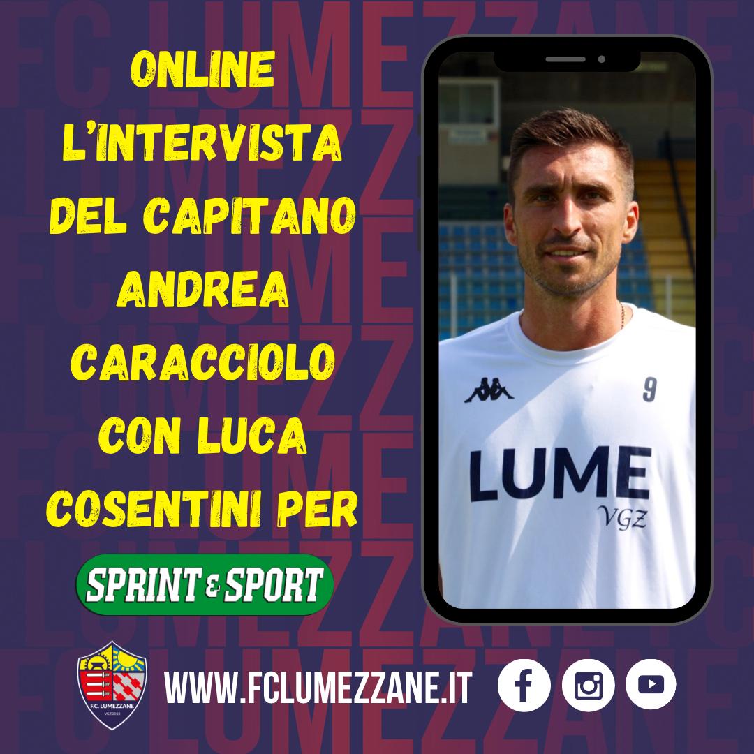 Il Capitano Andrea Caracciolo Intervistato Per Sprint E Sport