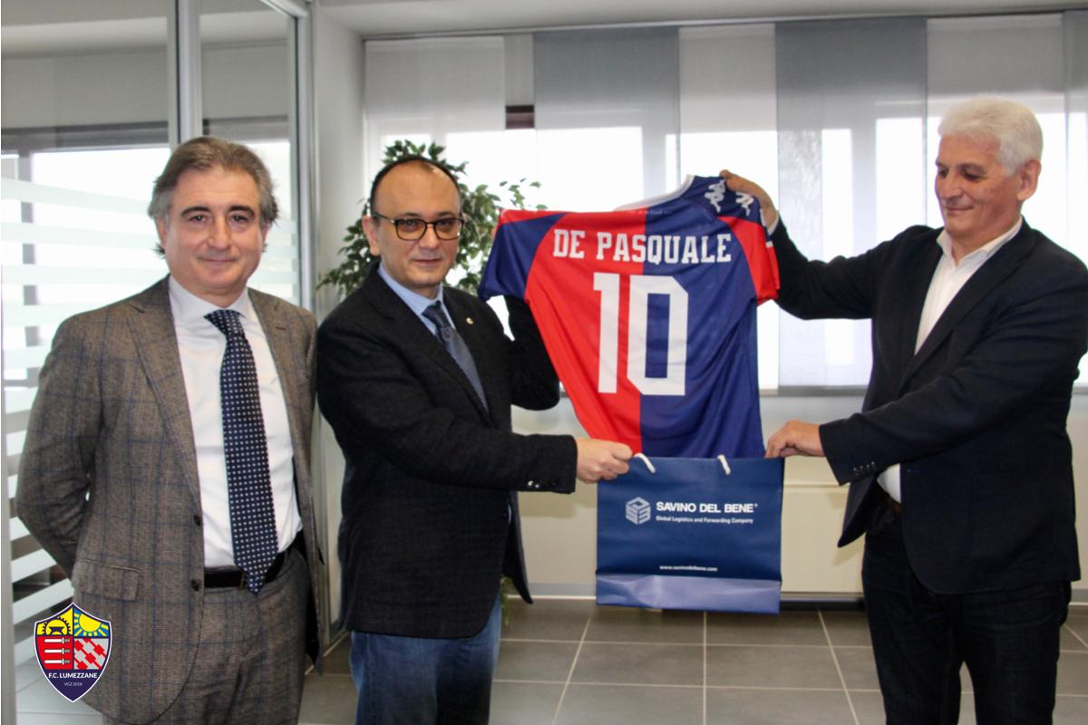 Savino Del Bene è Partner Di FC Lumezzane Vgz