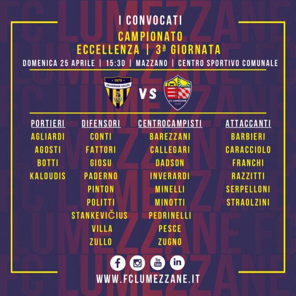 Campionato: I Convocati E Le Dichiarazioni Del Pre-partita Di Ciliverghe-Lumezzane