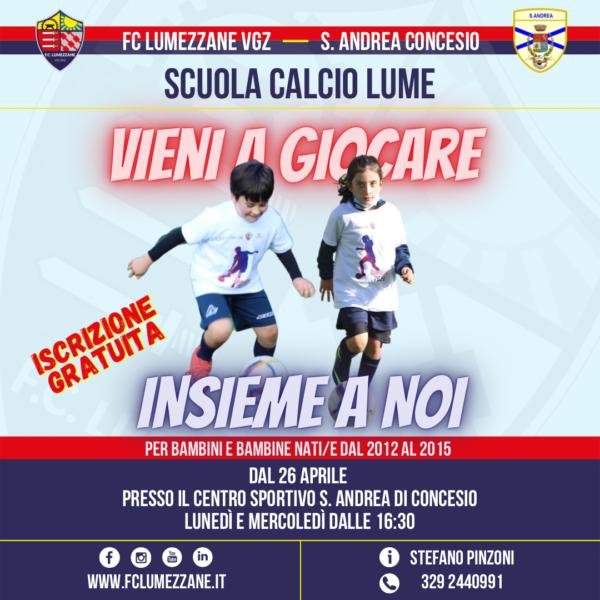 Scuola Calcio Lume A S. Andrea Concesio