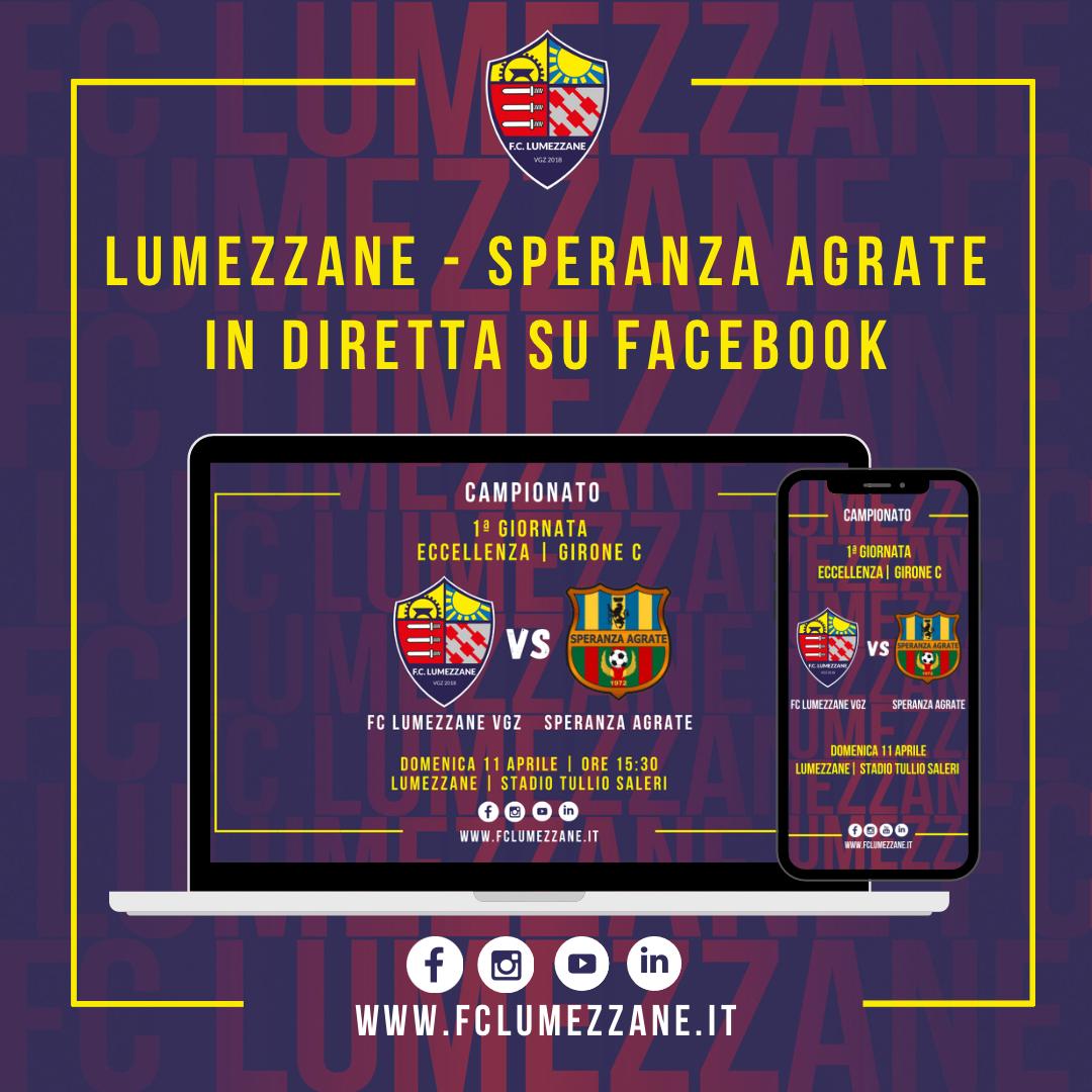 FC LUMEZZANE VGZ – Speranza Agrate: LA DIRETTA