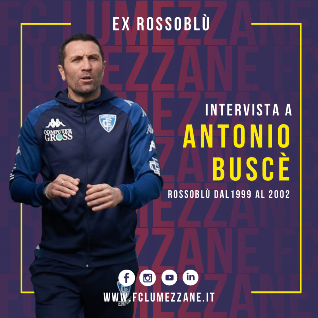 Antonio Buscè rossoblù
