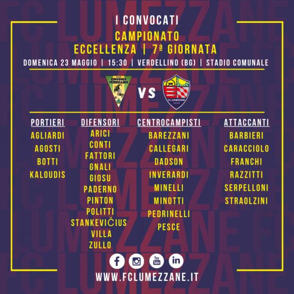 Campionato: I Convocati E Le Dichiarazioni Del Pre-partita Di Zingonia Verdellino-Lumezzane