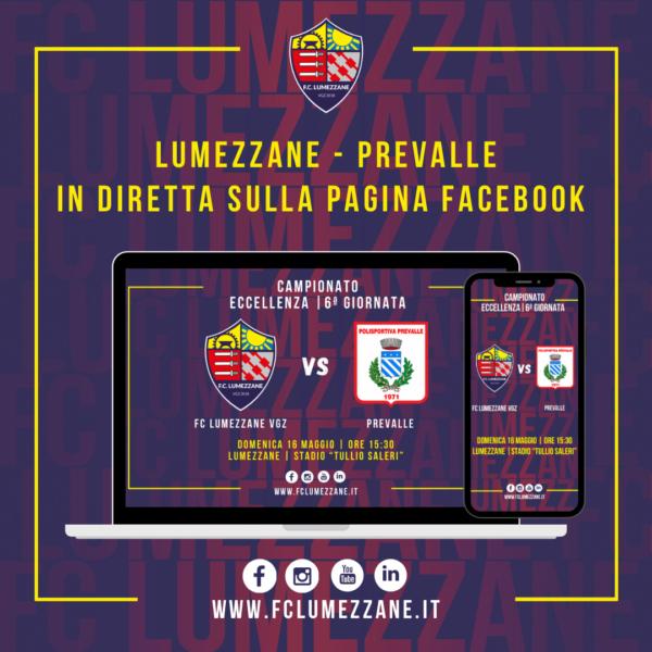 FC LUMEZZANE VGZ – Prevalle: LA DIRETTA