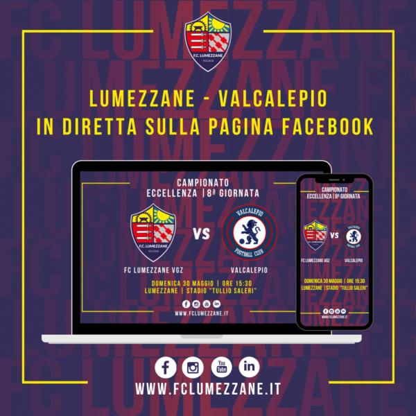 FC LUMEZZANE VGZ – Valcalepio: LA DIRETTA