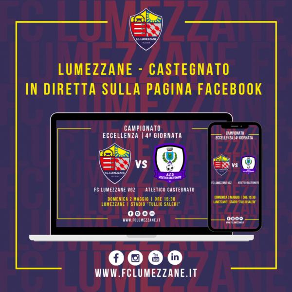 FC LUMEZZANE VGZ – Castegnato: LA DIRETTA