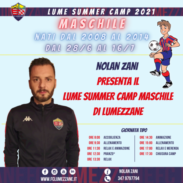 Lume Summer Camp 2021 A Lumezzane