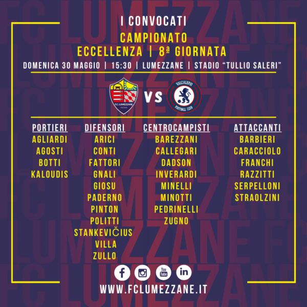 Campionato: I Convocati E Le Dichiarazioni Del Pre-partita Di Lumezzane-Valcalepio