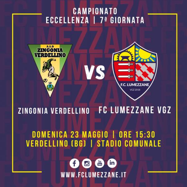 7ª Giornata: Lumezzane In Trasferta A Verdellino