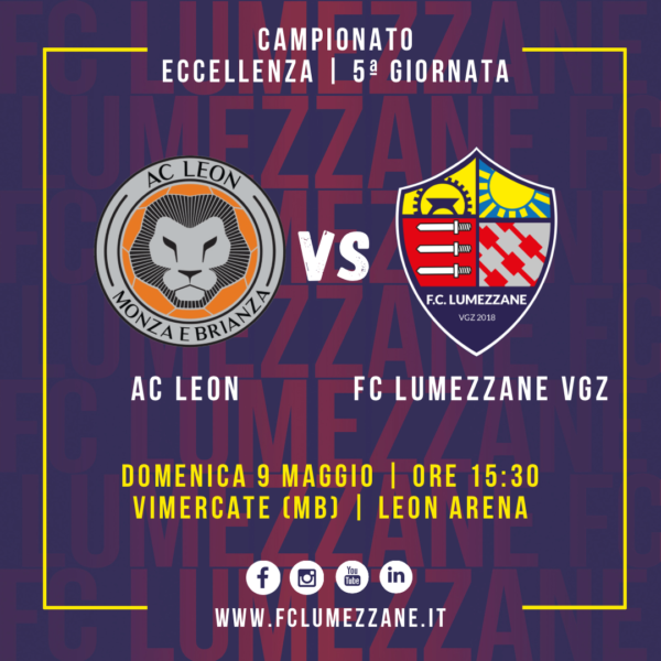 5ª Giornata: Lumezzane In Trasferta Contro Il Leon