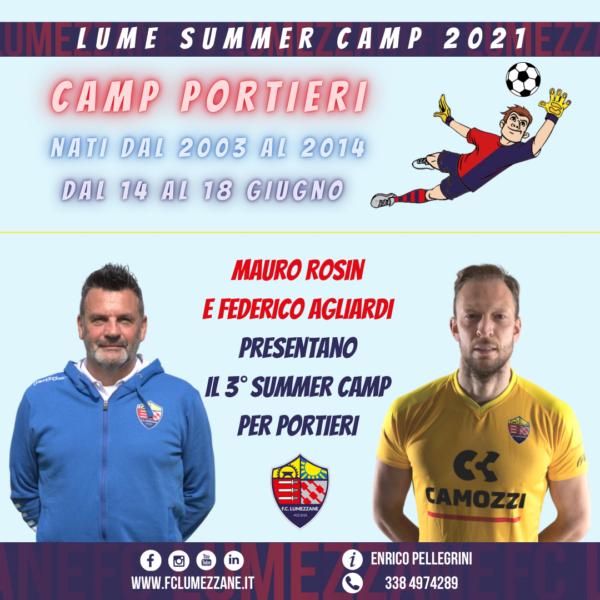 3° Lume Summer Camp Per Portieri