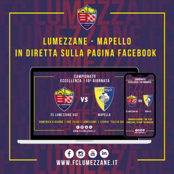 FC LUMEZZANE VGZ – Mapello: LA DIRETTA