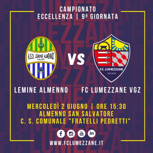 9ª Giornata: Lumezzane All'assalto Del Lemine