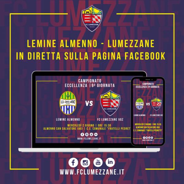 Lemine Almenno – FC LUMEZZANE VGZ: LA DIRETTA
