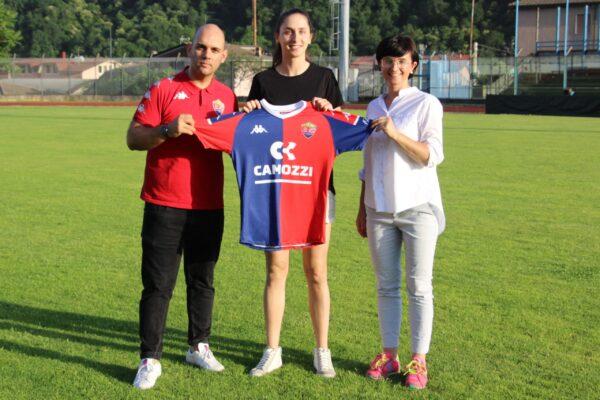 Comunicato Ufficiale: Alessia Martino è Una Nuova Giocatrice Rossoblù