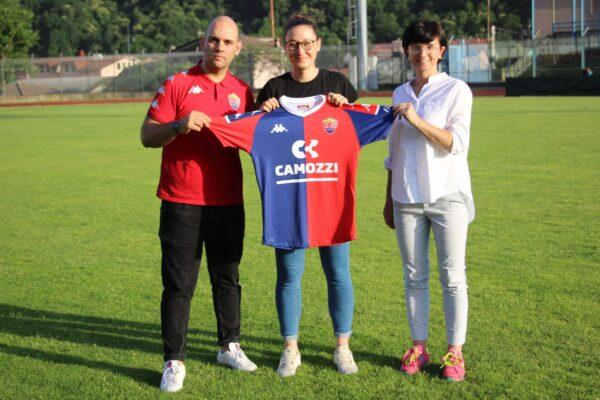 Comunicato Ufficiale: Karin Previtali è Una Nuova Giocatrice Rossoblù