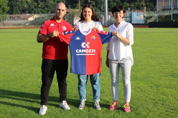 Comunicato Ufficiale: Michela Verzeletti è Una Nuova Giocatrice Rossoblù