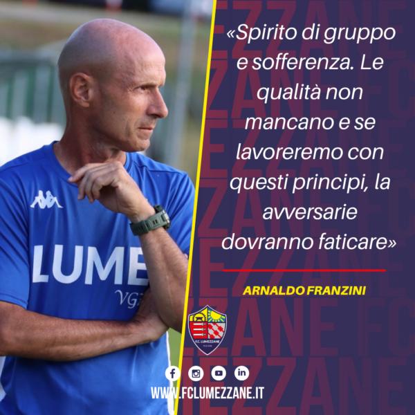 Pre Campionato. Franzini: «Spirito Di Gruppo E Sofferenza Le Parole D'ordine»