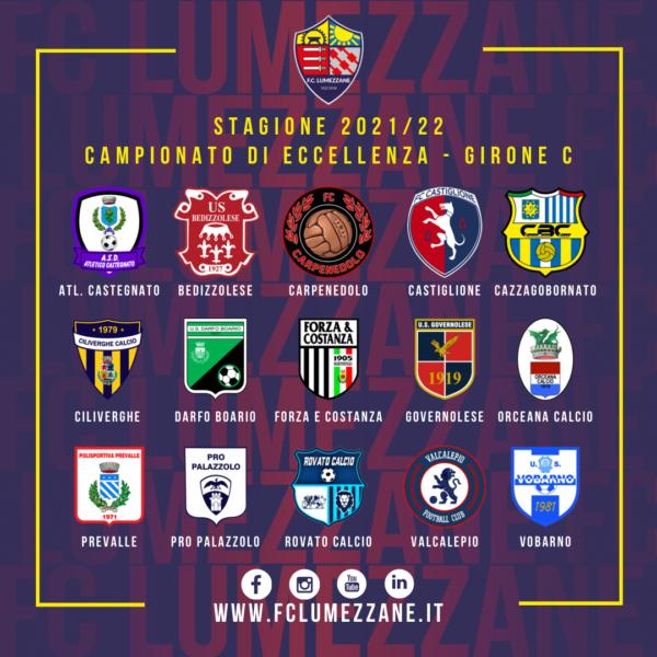 """Campionato – Il Lumezzane Inserito Nel Girone """"c"""" Di Eccellenza"""