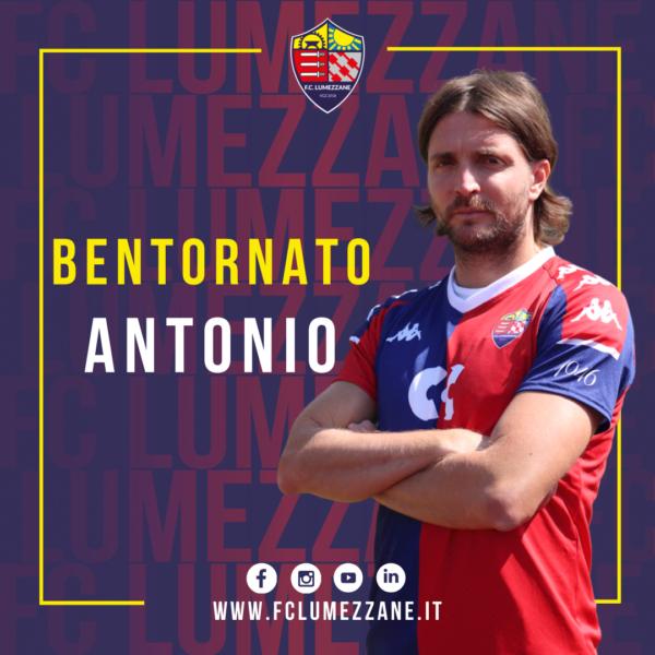 Comunicato Ufficiale: Antonio Giosa è Un Nuovo Giocatore Rossoblù