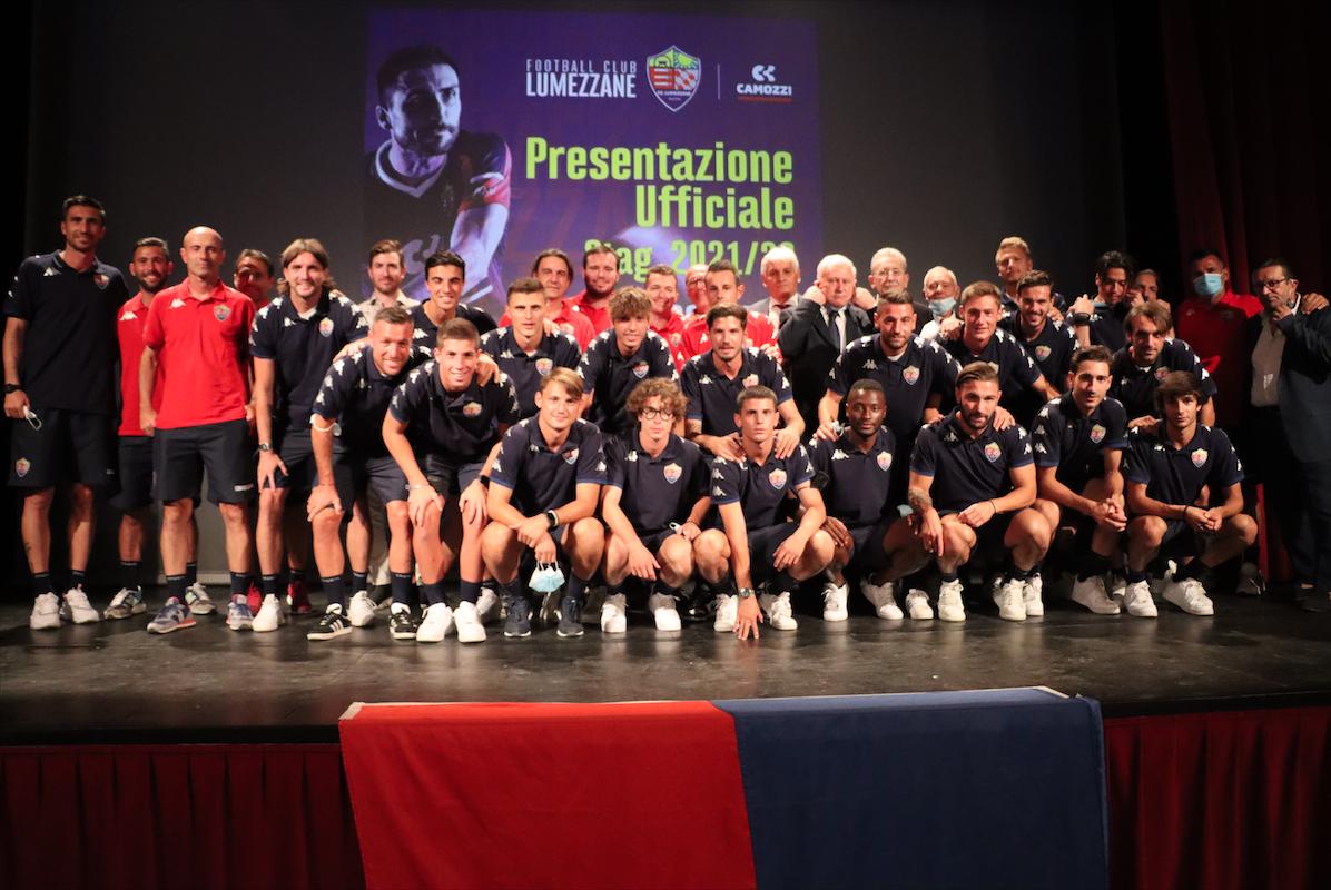 (14-9-21) | Presentazione Lumezzane | Stagione 2021/22