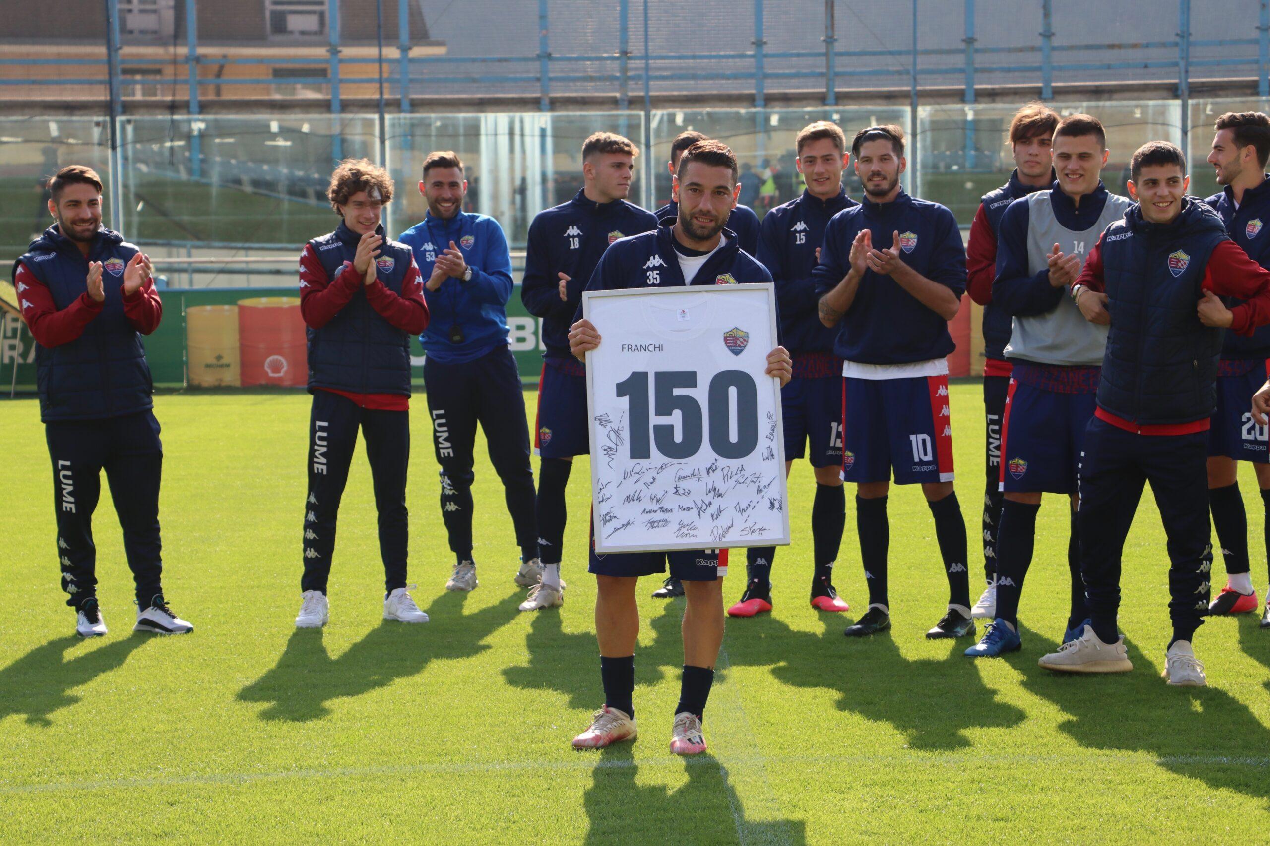 """Omaggio A Franchi Per I 150 Gol In Carriera: """"Una Grande Soddisfazione"""""""